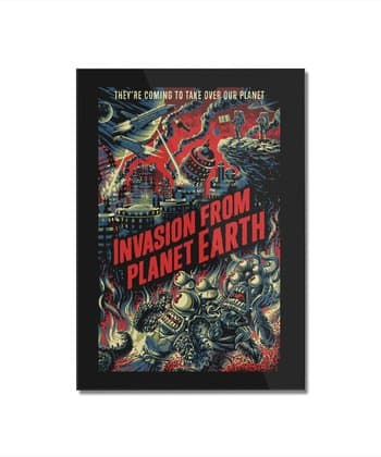 Invasion from planet Earth