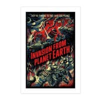 Invasion from planet Earth - vertical-print - small view