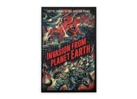 Invasion from planet Earth - vertical-stretched-canvas - small view