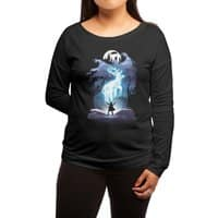 The 3rd Book of Magic - womens-long-sleeve-terry-scoop - small view