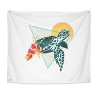Geometric Turtle - indoor-wall-tapestry - small view
