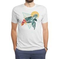 Geometric Turtle - mens-triblend-tee - small view