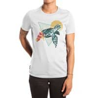 Geometric Turtle - womens-extra-soft-tee - small view