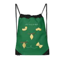 Life cycle of pasta - drawstring-bag - small view