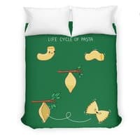 Life cycle of pasta - duvet-cover - small view