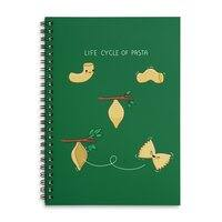 Life cycle of pasta - spiral-notebook - small view
