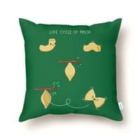 Life cycle of pasta - throw-pillow - small view
