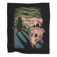 Pizza Nightmare - blanket - small view