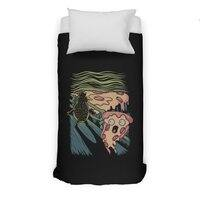 Pizza Nightmare - duvet-cover - small view