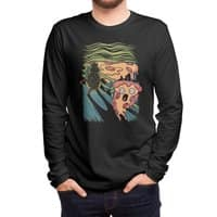 Pizza Nightmare - mens-long-sleeve-tee - small view