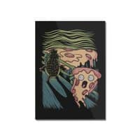 Pizza Nightmare - vertical-mounted-acrylic-print - small view