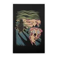 Pizza Nightmare - vertical-stretched-canvas - small view
