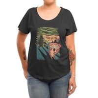 Pizza Nightmare - womens-dolman - small view