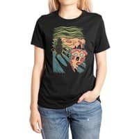 Pizza Nightmare - womens-extra-soft-tee - small view