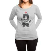 Weekday Cure - womens-long-sleeve-terry-scoop - small view