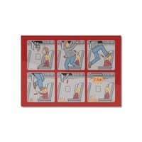 Safety First - horizontal-mounted-aluminum-print - small view