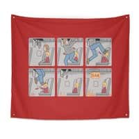 Safety First - indoor-wall-tapestry - small view