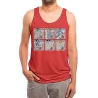 Safety First - mens-triblend-tank - small view