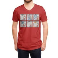 Safety First - vneck - small view