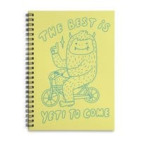The best is Yeti to come - spiral-notebook - small view