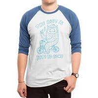 The best is Yeti to come - triblend-34-sleeve-raglan-tee - small view