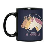 Be Yourself - black-mug - small view