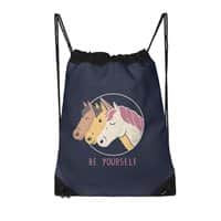 Be Yourself - drawstring-bag - small view