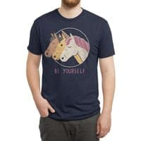 Be Yourself - mens-triblend-tee - small view