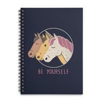 Be Yourself - spiral-notebook - small view