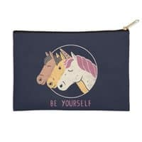 Be Yourself - zip-pouch - small view