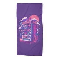 Retro gaming machine - beach-towel - small view
