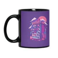 Retro gaming machine - black-mug - small view
