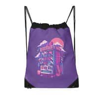 Retro gaming machine - drawstring-bag - small view