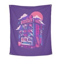 Retro gaming machine - indoor-wall-tapestry-vertical - small view
