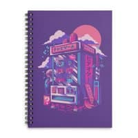 Retro gaming machine - spiral-notebook - small view