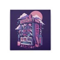 Retro gaming machine - square-stretched-canvas - small view