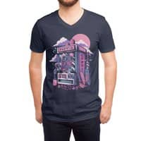 Retro gaming machine - vneck - small view