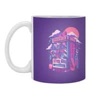 Retro gaming machine - white-mug - small view