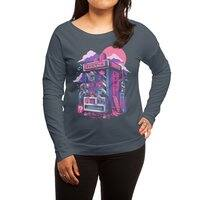 Retro gaming machine - womens-long-sleeve-terry-scoop - small view