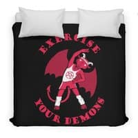 Exercise Your Demons - duvet-cover - small view