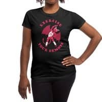Exercise Your Demons - womens-regular-tee - small view