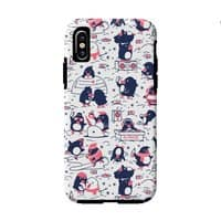 Penguin Party - double-duty-phone-case - small view