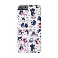 Penguin Party - perfect-fit-phone-case - small view