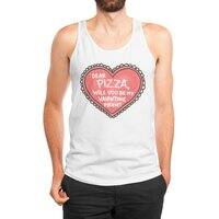 Dear Pizza - mens-jersey-tank - small view