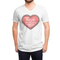 Dear Pizza - vneck - small view