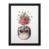 Memento - black-vertical-framed-print - small view