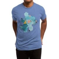 Calm - mens-triblend-tee - small view
