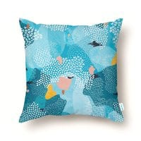 Calm - throw-pillow - small view
