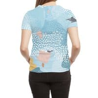 Calm - womens-sublimated-triblend-tee - small view