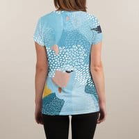 Calm - womens-sublimated-v-neck - small view